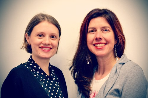 Irina Gossmann und Simone Alberti